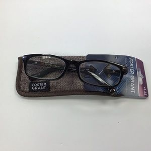 Foster Grant Men's Reading Glasses with Case